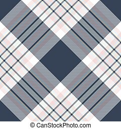 Check diagonal fabric texture seamless pattern