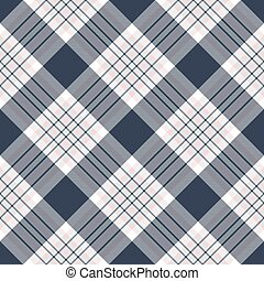 Check diagonal plaid seamless pattern