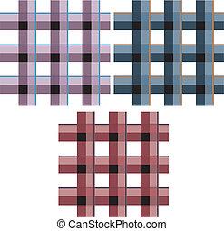 Check Fabric Pattern