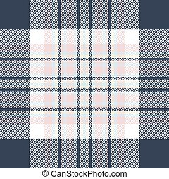 Check fabric texture seamless pattern