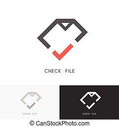 Check file logo