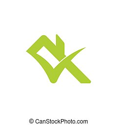 check home roof symbol logo vector