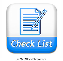check list button - Check list button validation evaluate...