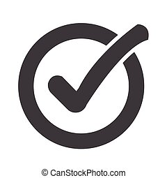 Check list button icon