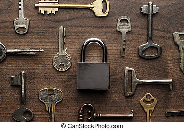 check-lock and different keys concept - check-lock and...