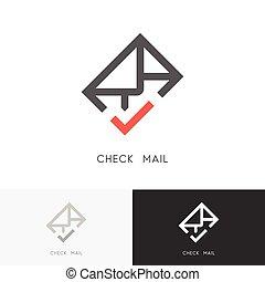 Check mail logo