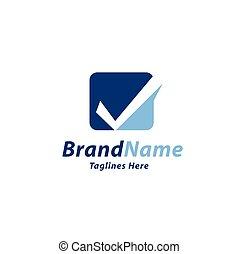 check mark color logo