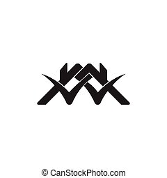 check mark home roof symbol vector