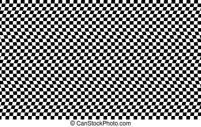 Check Pattern Wave Effect