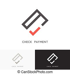 Check payment logo