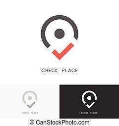 Check place logo