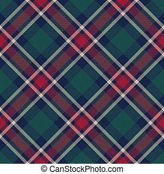 Check plaid diagonal fabric texture seamless pattern. Flat ...