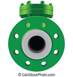 Check Valve pipe water metal steel piston industrial plumb...