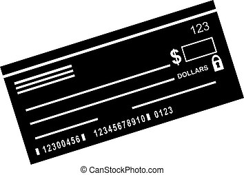 checkbook icon image isolated on a white background.