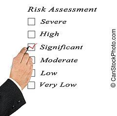 checkbox, tasación, riesgo