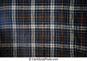 Checked cloth background