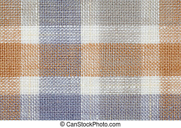 Checked fabric pattern texture