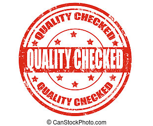 checked-stamp, qualité
