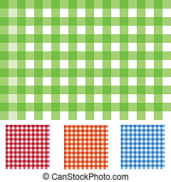 Checker Patterns - Image of colorful checker patterns.