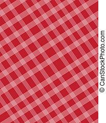 checkered, 手ざわり, 赤