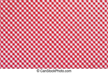 checkered, 生地, 赤