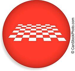 checkered, 表面