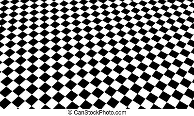 Checkered black and white Motion Background made in AE cs5 software