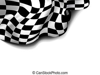 checkered, corsa, flag.