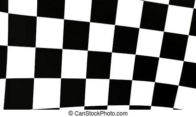 checkered flag B