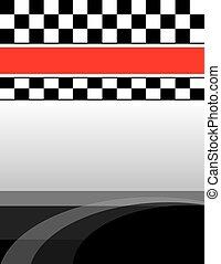 checkered flag brochure