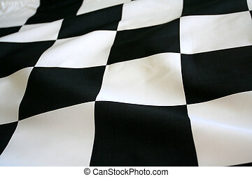 Checkered Flag - Checkered Race Flag