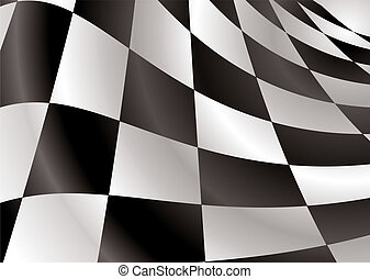 checkered flag revs - Finishing checkered flag style...