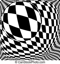 checkered, fond, conception