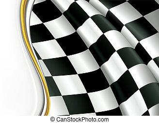checkered, fondo