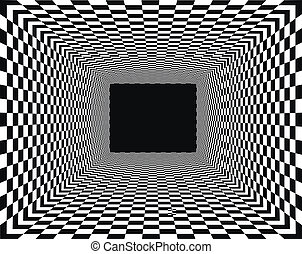 checkered, hintergrund, perspektive