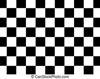 Checkered Illustration