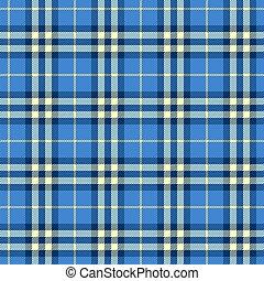 checkered, modello, -, panni, tavola, infinito