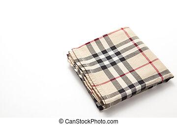 checkered, mouchoir