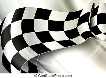 checkered, orizzontale, eps10, fondo