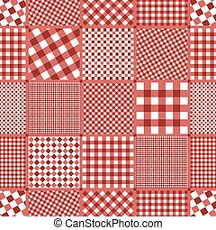checkered pattern seamless background