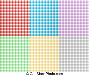 checkered picnic tablecloth, abstract background