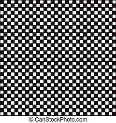 checkered, résumé, contrôleur, vecteur, carrée, échecs, fond