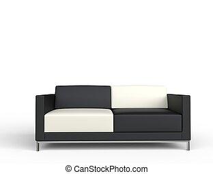 Checkered Sofa