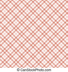 checkered table cloth background - seamless red colored...