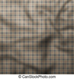 Checkered tablecloth with vertical and horizontal stripes
