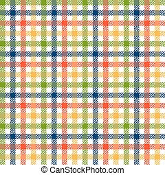 Checkered tablecloths pattern colorful - endless