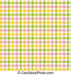 Checkered tablecloths pattern colorful - endlessly