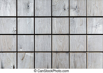checkered wood pattern. grey wooden planks natural textured background