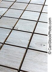 checkered wood pattern. rustic grey wooden natural textured background.