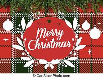 Frohe Weihnachten Ukrainisch.Hintergrundmuster Grun Frohlich Hebraisch Weihnachten